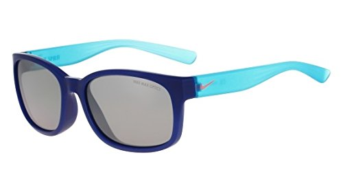 Nike Golf Spirit Sunglasses, Insignia Blue/Hot Lava Frame, Grey with Silver Flash Lens by Nike Golf