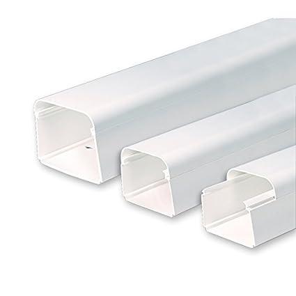 VECAMCO Canaleta para tuber/ías de Aire Acondicionado ClimaPlus 2Mts.