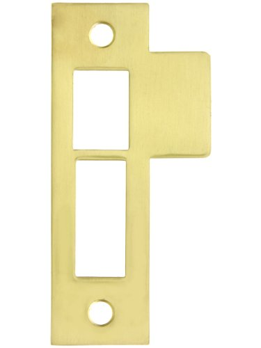 Polished Brass Strike Plate - 3 1/2