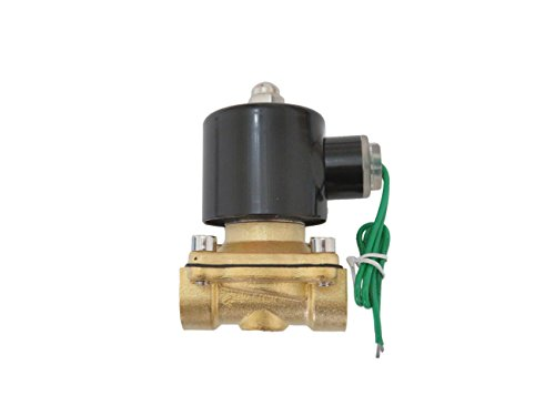 1/2 inch 24V AC VAC Brass Electric Solenoid Valve NPT Gas Water Air Normally Closed NC -