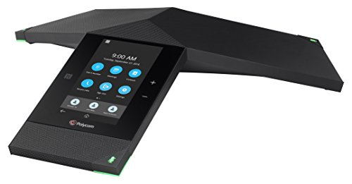 Polycom Realpresence Trio 8800 2200-66070-019 Lync/Skype for Business Edition PoE Conference Phone, Black by Polycom