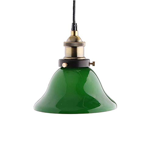 Green Glass Light Pendant in US - 2