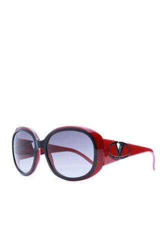 Valentino Sunglasses , Color: Red, Size: - Sunglasses Valentino Red