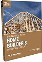 BNI Building News Home Builders Costbook 2013