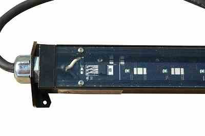 14 Watt Class 1 Division 2 LED Fixture for Hazardous Location Lighting - 2 Foot Low Profile Light