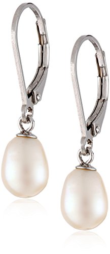 Freshwater Cultured Earrings Sterling Leverbacks product image
