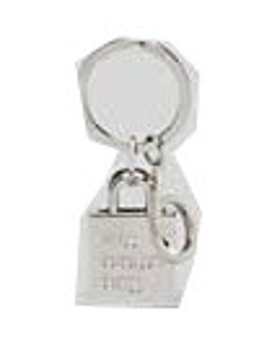 bloomingdales-little-brown-bag-keychain-silver