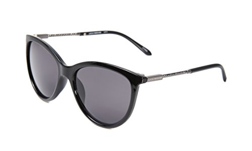 Lucky Women's D930bla58 Cateye Sunglasses, Black, 58 - Case Lucky Brand Glasses