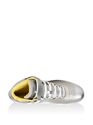 Reebok Zapatillas abotinadas Smoothfit All Out Plata / Amarillo EU 38.5 (US 8)