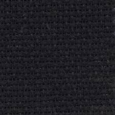 - 310 14 Count Black Aida Fabric 14x18 Inches 35x45cm DC27//10