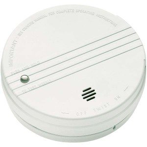 Kidde 0915E Smoke Detector, 9V Battery Powered Ionization (i9050)-2PK