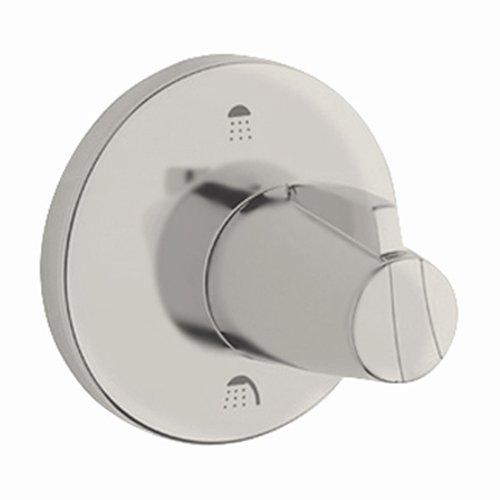 Grohe 19 906 AV0 Chiara Neu 3-Port Diverter Trim, Infinity Satin Nickel/Polished Nickel
