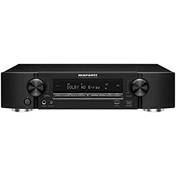 Marantz AV Audio & Video Component Receiver Black (NR1508)