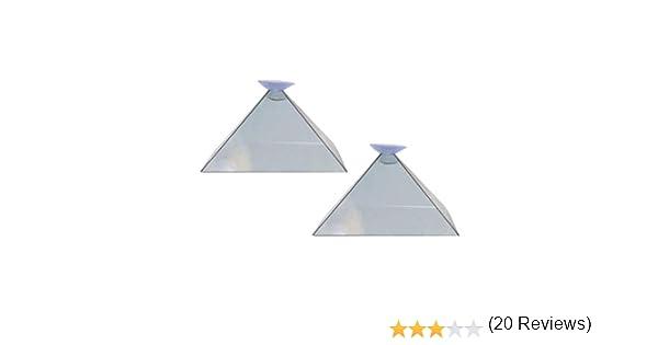 Soulitem 3D Holograma Pirámide Pantalla Proyector Vídeo Soporte ...