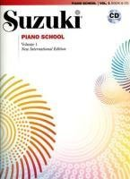 Suzuki Piano School Volume 1 (with CD): New International Editions (Suzuki Method Core Materials) by Perf. Seizo Azuma (2008) Sheet music (Alfred Publishing Star)