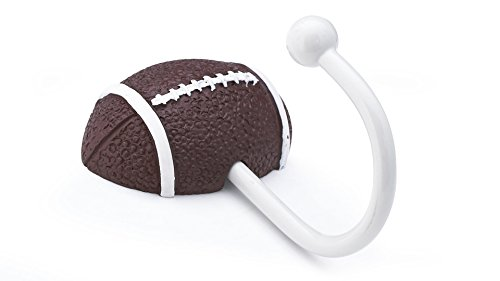Richelieu Hardware RH163301100 Football Hook, Pattern Finish