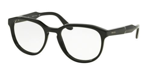 Prada JOURNAL PR18SV Eyeglass Frames 1AB1O1-51 - Black at Amazon ...
