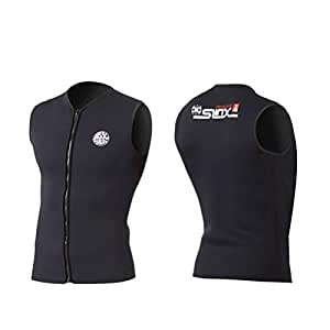 JASQSY 3mm Neopreno Wetsuit Chaleco Hombres y Mujeres para ...