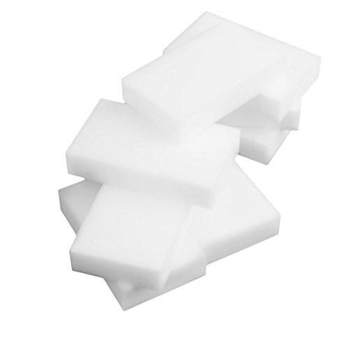 Price comparison product image Maexus 100pcs White Multi-Functional Magic Sponge Eraser Cleaner 100 x 60 x 20mm