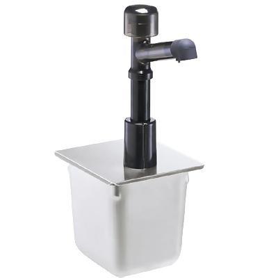 Condiment Syrup Pump w/ 1-oz/Stroke Capacity, Polycarbonate