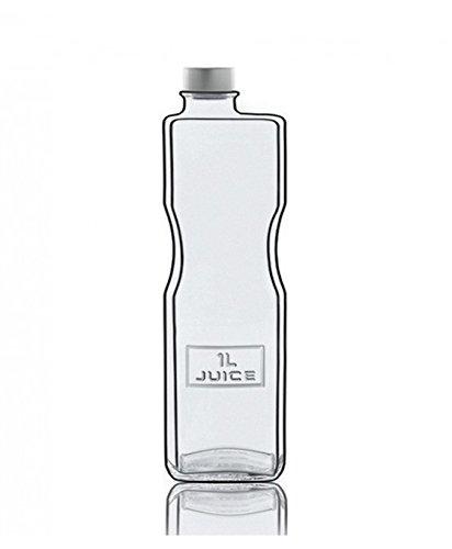 Botella de vidrio Optima para Zumo 1 L Luigi Bormioli - Pack 6 u.