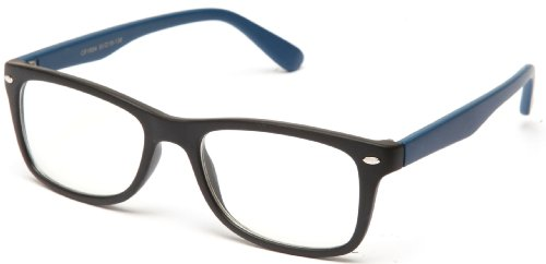 Clear Lens Fashion Fun Nerd Cosplay Geek Colors Rainbow Multi Color BUY 3 GET 50% OFF! 1854 Matte Blue