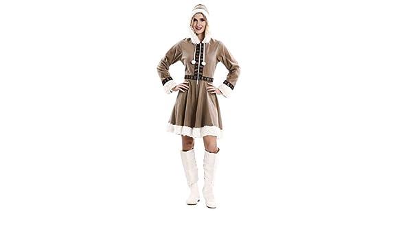 EUROCARNAVALES Disfraz de Esquimal para Mujer: Amazon.es: Juguetes ...