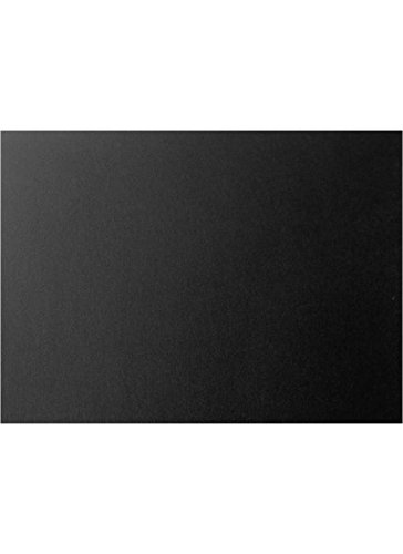 A7 Flat Card (5 1/8 x 7) - Black Satin (1000 Qty.) by Envelopes Store