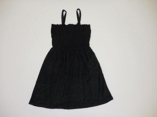 Natural Uniforms Sun Dress Solid Color Knee High - Terry - Tank Top Women Dress L ()