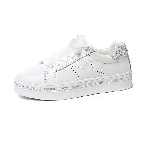 argent Comfort Sneakers Et SHOESHAOGE Creepers Chaussures Femme Printemps Eté Argent Rose xW4wqBvw