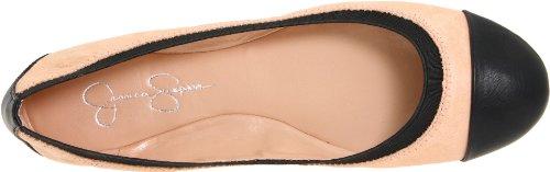 Jessica Simpson Womens Madisen Ballet Platte Ballet Slippers / Zwart