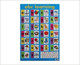 Printables Abcd Chart World abc learning wall chart byeway charts 9781859973028 import