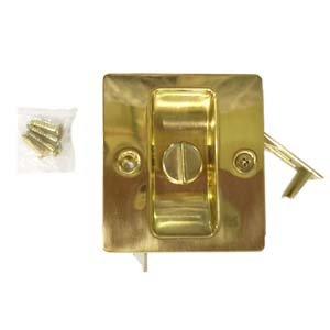 Ives 991Be Brass Rv Pocket Door Latch