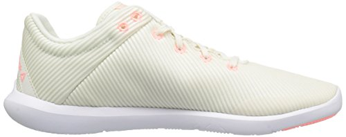 Reebok Mujeres Studio Basics Pista Zapato Tiza / Sand Stone / Sour Melon / White