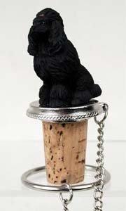 (Poodle Bottle Stopper (Black))