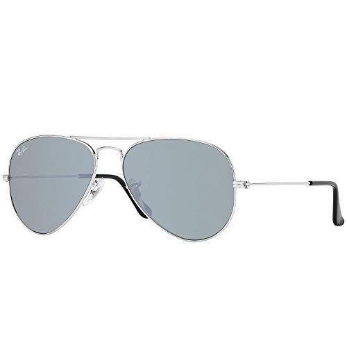 Ray-Ban Aviator Large Metal Sunglasses - Silver / ()