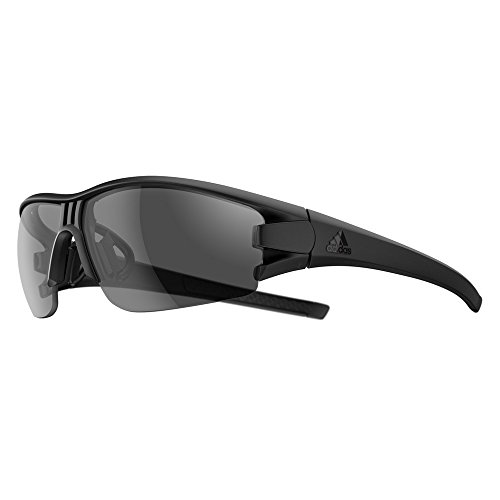 adidas Evil Eye Halfrim S Sunglasses 2018 Black Matte Gray