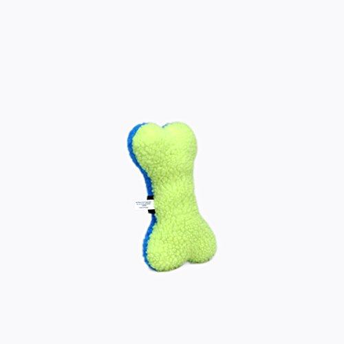 - Coastal Pet Products Rascals Fleece Bone Squeaky Dog Toy, 12