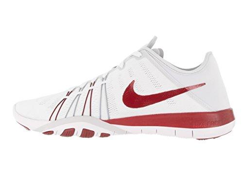 Nike TR Womens Training Free 6 Pure Red White Platinum Shoes Gym dxxqw1R7