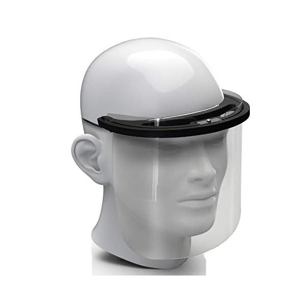 Premium-Gesichtsschild-Visier-aus-Kunststoff-Schutzschild-Gesicht-Wiederverwendbarer-Gesichtsschutzschild-Spritzschutz-Mund-Nase-Auge-Anti-Saliva