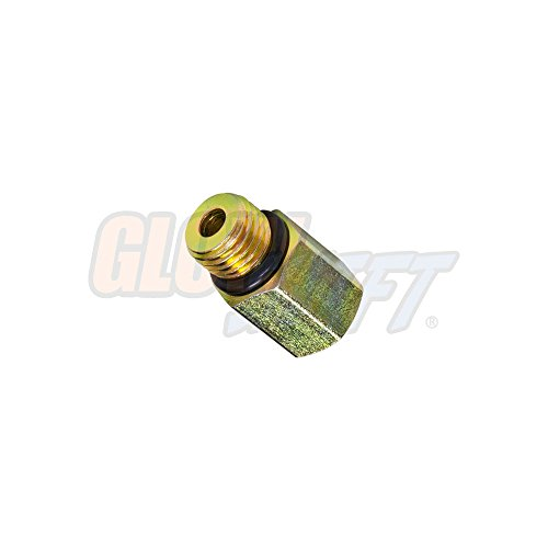 Ford Oil Pressure Gauge - GlowShift Low Oil Pressure Gauge Sensor Thread Adapter for 6.0L 7.3L Ford Power Stroke