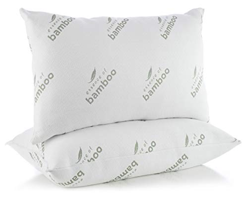 Essence of Bamboo Bed Pillow, 20x28 White