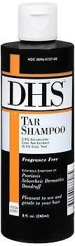 DHS Tar Shampoo 8 oz (Pack of 2)