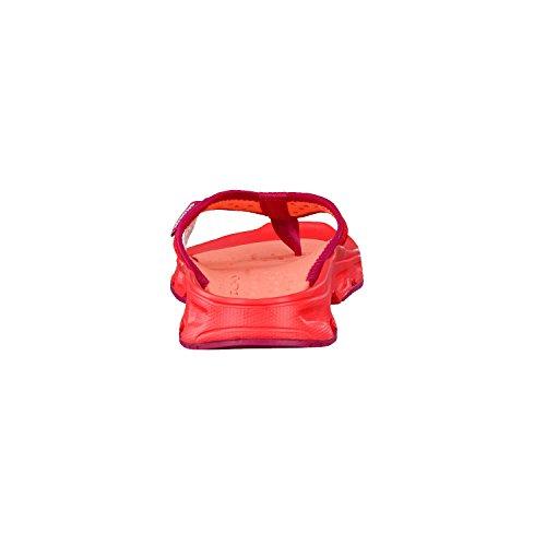 Salomon Rx Break W, Chanclas para Mujer Rojo (Poppy Red/Living Coral/Sangria)