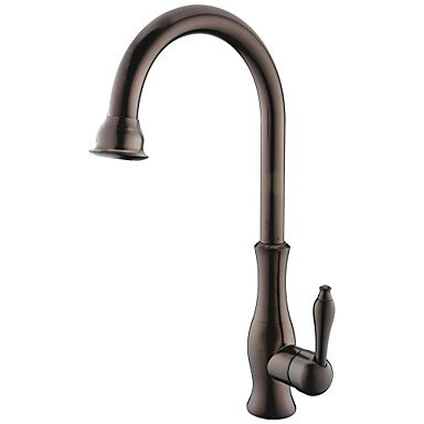 Centerset Single Handle One Hole with Ti-PVD Kitchen faucet Coffee by Zheng