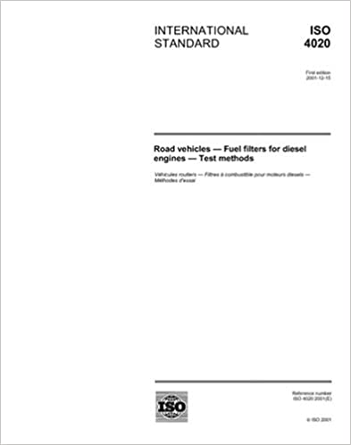 Ein Kindle-Buch auf das iPad herunterladen ISO 4020:2001, Road vehicles - Fuel filters for diesel engines - Test methods PDF B000Y2SZCY