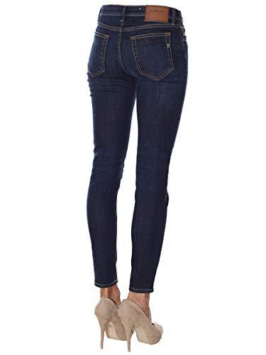 Dondup Alla Taglio Dp349 Dritto Tasche Cinque Skinny Jeans Caviglia BAnWfxBwZ