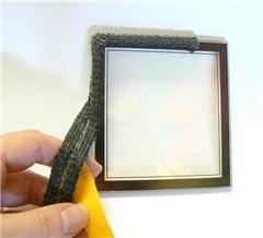 auto-adh/ésif noir Pyrojoints 703 3 mm x 25 mm au m/ètre. plat echelle noir