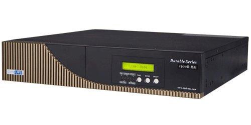 OPTI-UPS DS1500B-RM (1500va) Rack Mount Rack Online Double Conversion Sinewave Uninterruptible Power Supply (UPS) PFC Compatible Battery Backup 6-Outlet ()