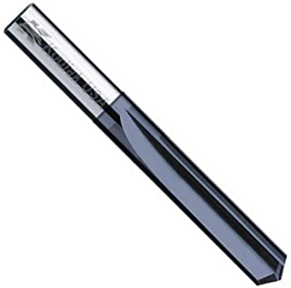 """product image for Kodiak Cutting Tools KCT229227 USA Made Solid Carbide Drill Bit, AlTiN Coated, Straight Flute, 2 Flute, 3/16"""" Diameter, 7/8"""" Length of Cut, 2"""" Overall Length"""